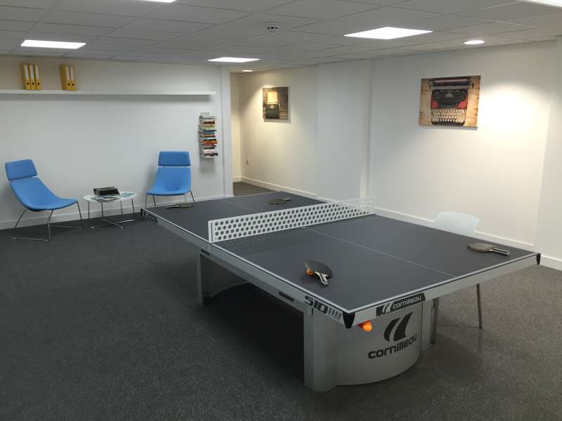 Table tennis and meeting table in one