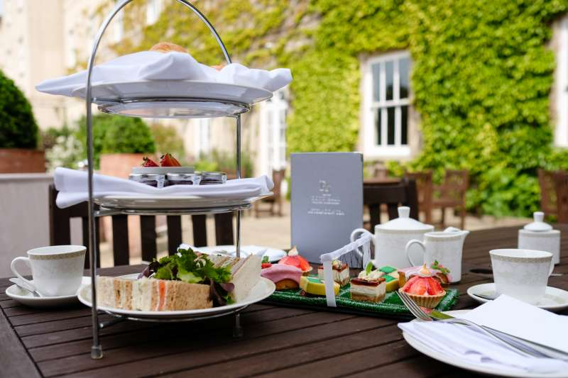 Afternoon Tea on the Terrace