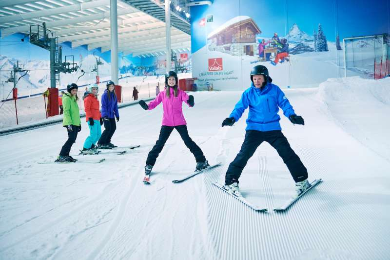 Group Ski & Snowboard Lessons